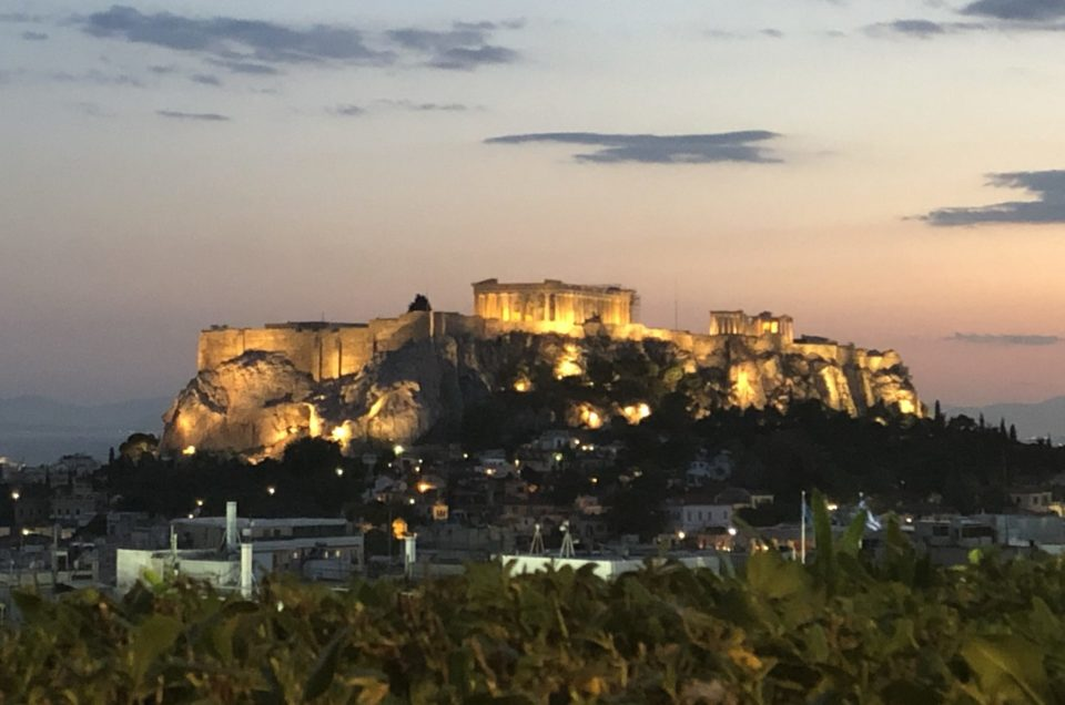 Three great days in Athens