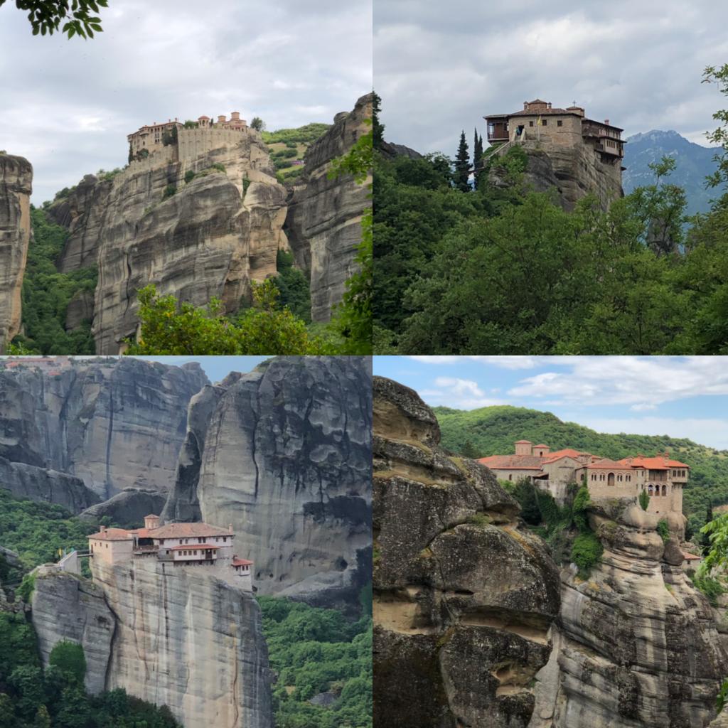 Meteora and its monasteries, Greece