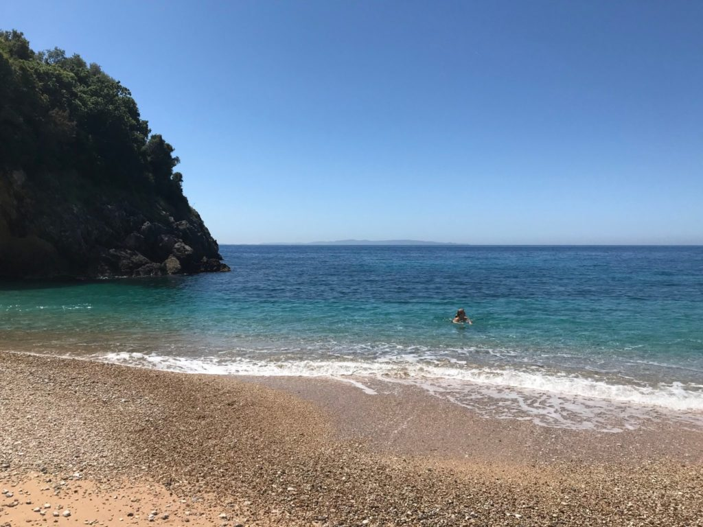 Mega Ammos Beach, Syvota