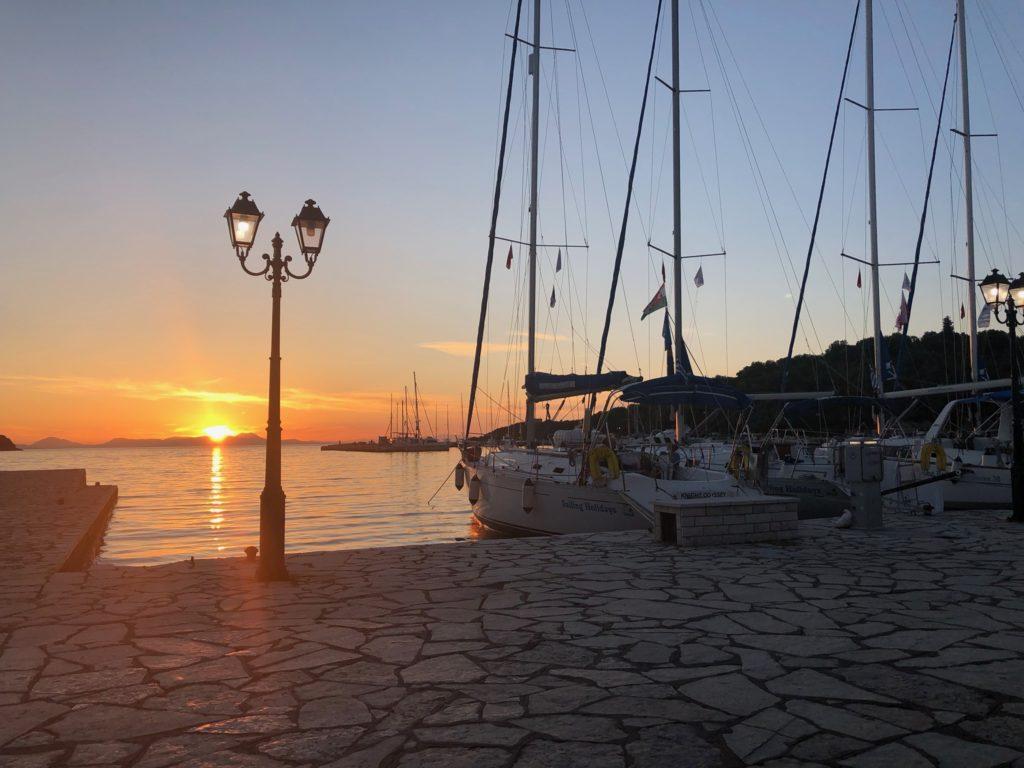 Sunset in Syvota